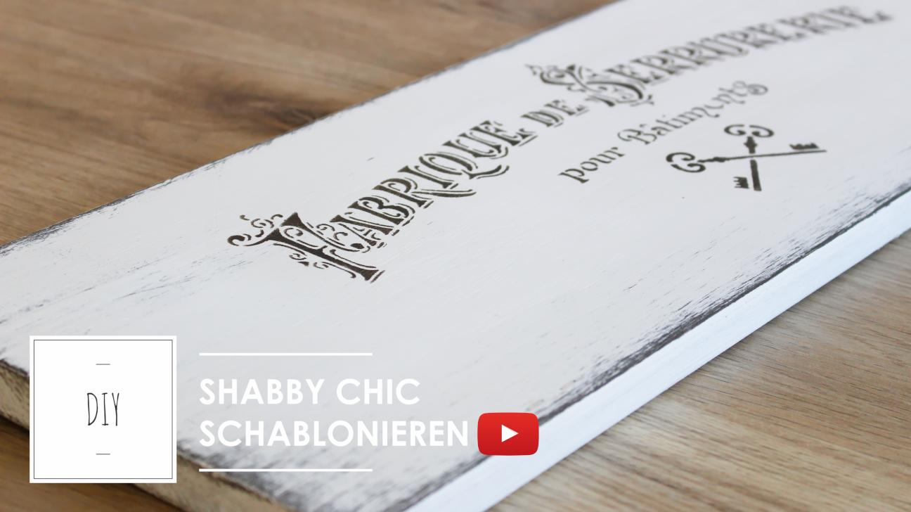 Beliebt zaubervolles Kreidefarbe: Shabby Chic Werkanleitung / Anleitung TI47